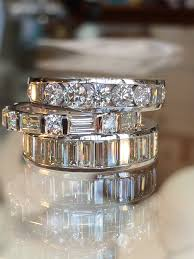 stackable diamond rings custom stacking diamond rings by teels jewelry teel s jewelry