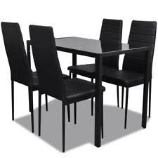 Buy Black Table and Chair Sets  eBay