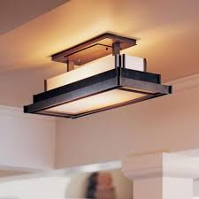 Decorative Fluorescent Kitchen Lighting Awesome Flush Mount Kitchen Lighting With Ceiling Light Fixtures
