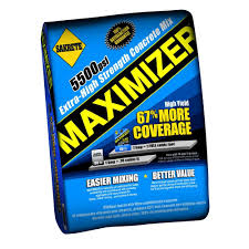 maximizer 80 lb concrete mix max80 the home depot
