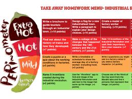 industrial revolution takeaway homework by kellyeyechase