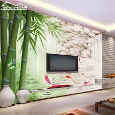 online buy wholesale wallpaper 3d landscape bamboo from china