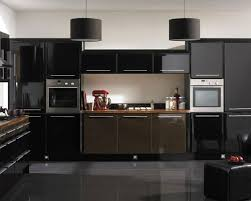kitchen backsplash ideas black granite countertops butcher block