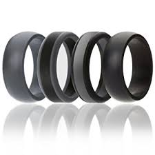 rubber wedding band silicone wedding ring for men by soleed rings power