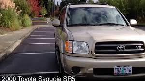 2000 toyota sequoia toyota sequoia sr5