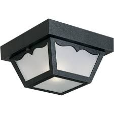 Motion Sensor Porch Ceiling Light by Progress Lighting P5744 31 Non Metallic Ceiling Light With 1 Piece