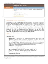 Oracle Applications Consultant Resume Download Oracle Consultant 0003 Docshare Tips