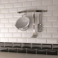 Black And White Kitchen Tiles Image Result For Kitchen Tiles With A Feature Wall Final Kitchen