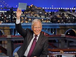 David Letterman Desk Letterman Farewell Is Top 10 Affair