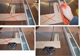 miter cuts on table saw simple and safe how to cross cut on a table saw