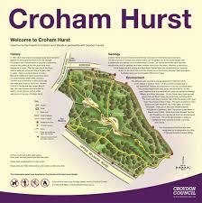 hurst map map friends of croham hurst woods