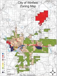 Alabama City Map City Of Winfield Alabama