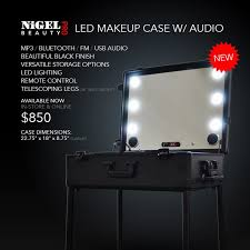 best lighting for makeup artists 24 best led makeup cases images on makeup make