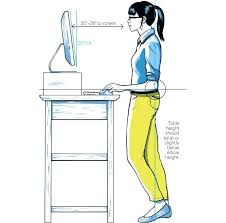 desk work standing up desk 6 desks to save you from death by