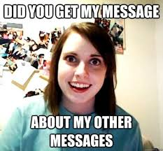 No Response Meme - erin on twitter send mom fb message no response called house no