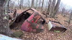 car junkyard near me abandoned junkyard new jersey vintage cars and trucks youtube