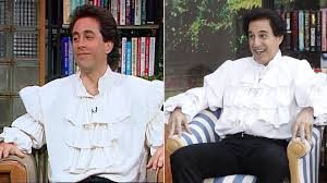 Halloween Shirts For Babies by Matt Lauer Becomes U0027puffy Shirt U0027 Jerry Seinfeld For Halloween