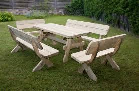 Plan De Table En Bois by Emejing Table De Jardin Bois Brut Photos Nettizen Us Nettizen Us