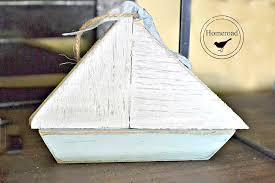 homeroad scrap wood summer sailboat ornaments