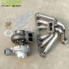 lexus gs300 exhaust exhaust manifold turbocharger gt45 water cooled turbine ar 0 84