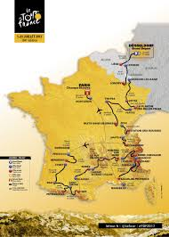France On A Map by Next Year U0027s Tour To Favour Aggressive Riders As Route Is Unveiled