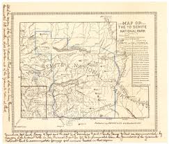 Yosemite Valley Map Today U0027s Document U2022 June 30 Map Of Yosemite National Park Petition