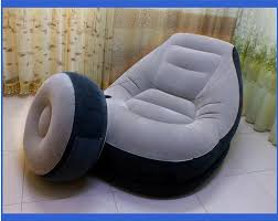 Inflatable Chair And Ottoman by Light Weight Inflatable Sofa For Your Home