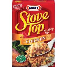 stove top kraft stove top mix chicken 6 0 oz walmart