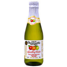 Wholesale Sparkling Cider Bulk Martinelli U0027s Sparkling Cider 8 4 Oz At Dollartree Com