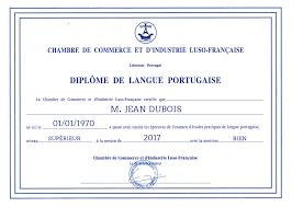 stage chambre de commerce diplôme de la chambre de commerce d industrie luso française ilcp