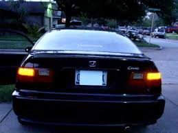 92 95 civic led tail light and turn signal youtube