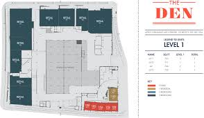 schematic floor plan elevate your living with luxury apartment floorplans at the den at
