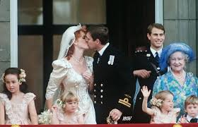 wedding of prince andrew of the united kingdom and sarah ferguson