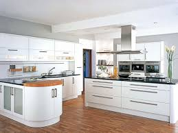 Designer White Kitchens Fresh Kitchen Design White And Grey Wood Idolza