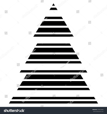 simple black christmas tree icon abstract stock vector 479917600