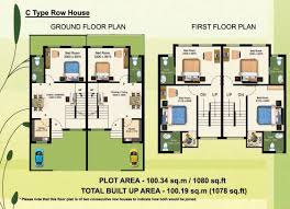 row house plans green hemlet kolkata larica group
