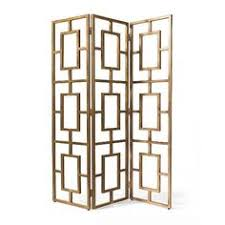 Gold Room Divider Essex Screen Room Divider Gold Finish Grandinroad Home