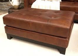 Large Leather Ottoman Large Leather Ottoman Coffee Table Living Ottoman Teal Ottoman