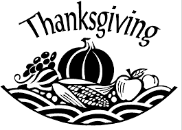 thanksgiving religious clip in black white happy thanksgiving