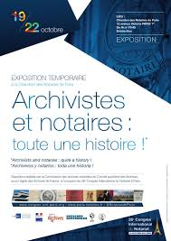 chambre des notaires 22 archives nationales on exposition archivistes et notaires