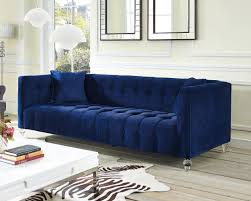 Blue Velvet Chesterfield Sofa by Sofas Center Blue Tufted Ottoman It Is Gorgeous Midnight Velvet