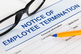 Notice Of Employment Termination Letter maier law group blog