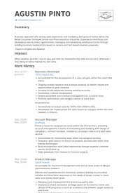 Account Manager Resume Sample by Business Developer Resume Samples Visualcv Resume Samples Database