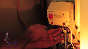 how to change out water heater control youtube