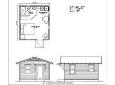 guest cottage floor plans historic shed tiny cottage floor plan 320 sq ft 16 x 20