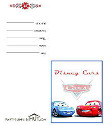 cars birthday invitations printable ajordanscart com