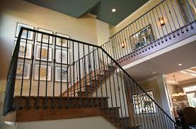 stairs inspiring wrought iron stair railings interior wrought