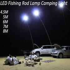 12 volt led fishing lights 12v led cing lights 3 75 meters telescopic fishing pole outdoor