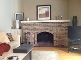 How To Whitewash Interior Brick How To Whitewash A Dated Brick Fireplace U2013 Dave And Kelly Davis