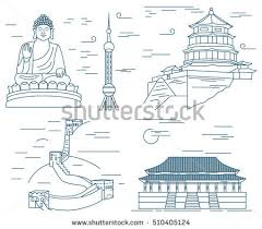 tower clipart great wall china pencil and in color tower clipart